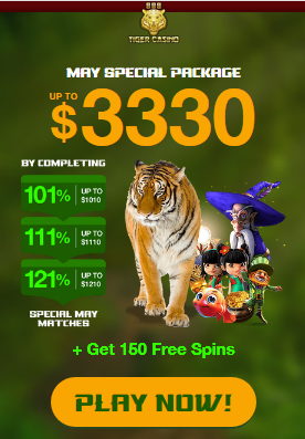 888 Tiger May Package No Deposit Forum.png