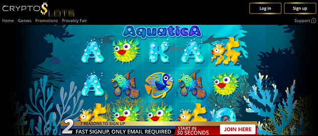 cryptoslot aquatic no deposit forum.png