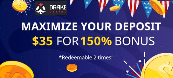 Drake Casino 150% No Deposit Forum.png