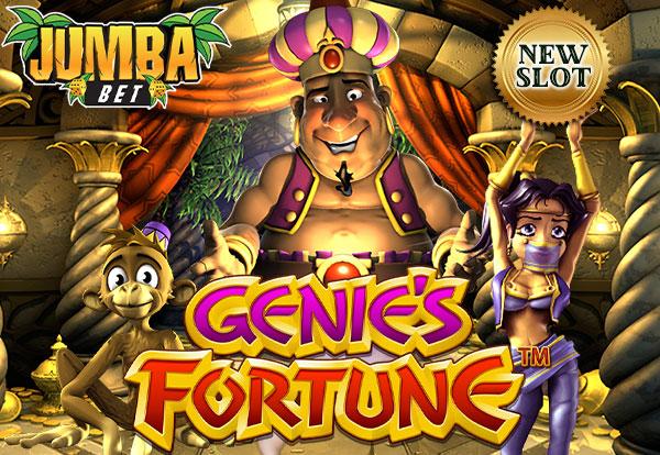 Jumba Bet No Deposit Bonus 10 Free Chip On Genie S Fortune