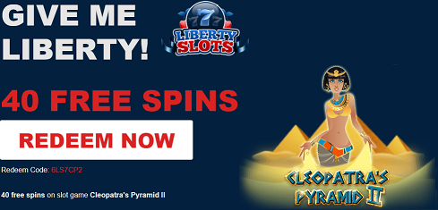 Liberty Slots Casino Cleopatra's Pyramid II No Deposit Forum.png