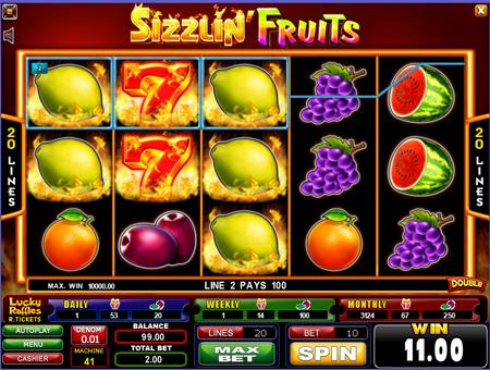 Sizzlin Fruits slot.png