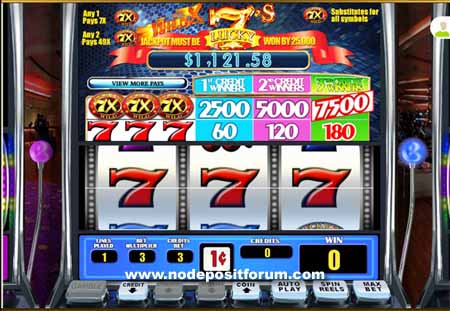 7X Lucky Sevens slot