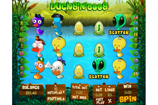 Ducks'n'Eggs slot