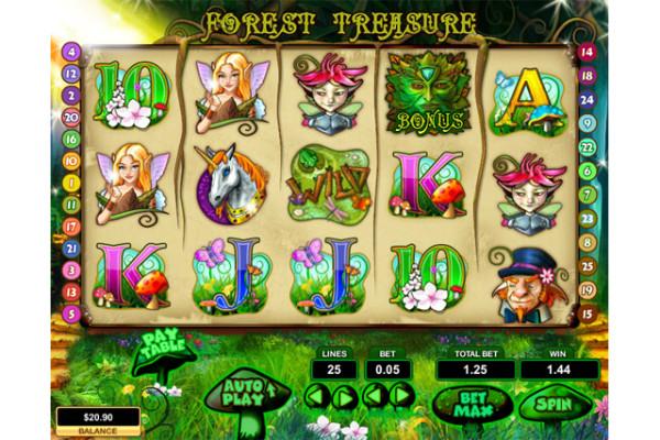 Forest Treasue slot