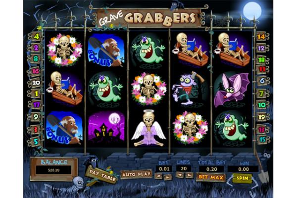 Grave Grabbers slot