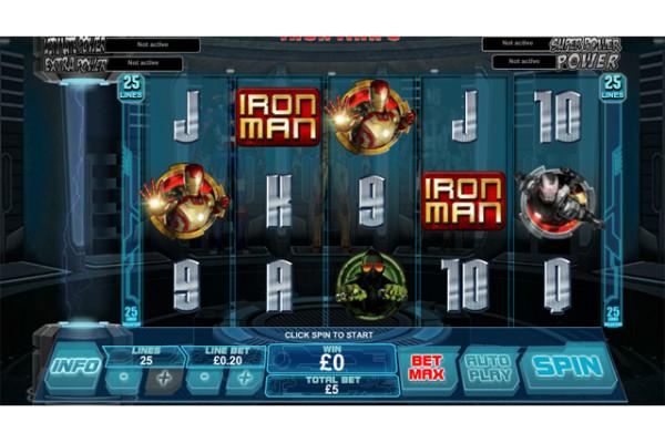Ironman slot