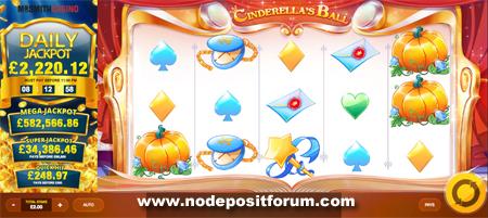 Cinderella's Ball slot